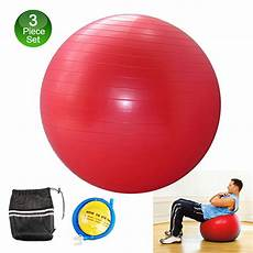 Pilates Ball Size Chart Free Shipping Fitness Stability Ball Set Sizes 65cm Ideal