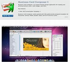 Business Card App For Mac 30 Design Apps On The Mac App Store Webdesigner Depot