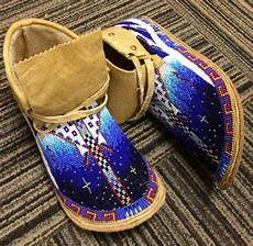 shoes should be prettier like these beaded moccasins
