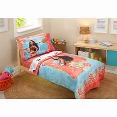 disney moana 4 toddler bedding set wayfair