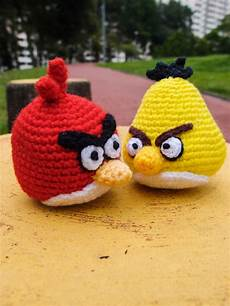 yellow angry bird amigurumi snacksies handicraft corner
