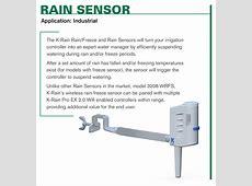 Rain Sensors for Irrigation Controllers
