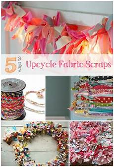 5 ways to upcycle your fabric scraps infarrantly creative