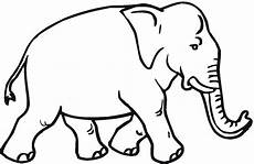 Ausmalbilder Elefant Kostenlos Free Elephant Coloring Pages