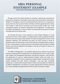 Management Personal Statement Great Personal Statement Examples Amp Samples Various Majors