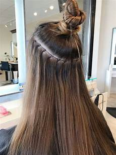 nbr extensions with the glossary salon in hair
