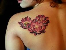 Lotus Flower Designs On Shoulder 65 Lotus Flower Designs That Is Full Of Meanings