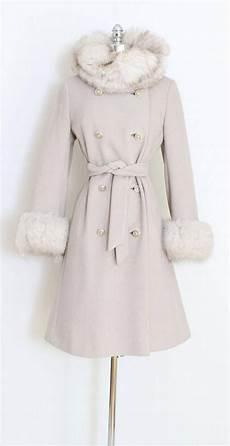 trendy coats for shaver vintage 60s coat 1960s wool fur belted coat gray wool fur