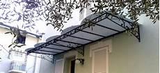 tettoie e pensiline tettoie e pensiline in ferro per esterni di abitazioni a