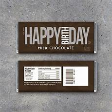 Free Birthday Candy Wrapper Template Happy Birthday Candy Bar Wrappers Printable Instant Download
