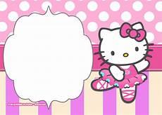 Hello Kitty Birthday Template Free Printable Hello Kitty Pink Polka Dot Invitation