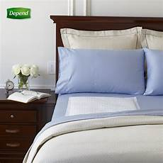 depend bed protectors for incontinence