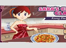 Sara's Cooking Class Games: Kung Pao Chicken Cooking Games