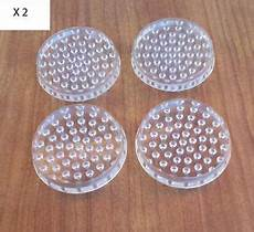 Spiked Carpet Protectors Set Of 16 Floor by 8 X Spiked Clear Plastic Castor Cups Floor Protector