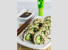 How to make Vegan Green Sushi at Home   My Eclectic Bites
