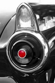 1957 Thunderbird Lights 1957 Ford Thunderbird Red Tinted Light In Black And