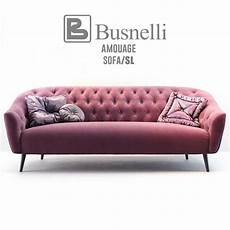 Sofa Sofa 3d Image by Busnelli Amouage Sofa With Armchair Classic 3d Model For