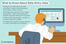 What Qualifications Do You Have For This Position Looking For A Data Entry Job What You Need To Know