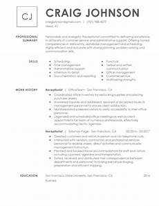 Perfect Receptionist Resume Executive Assistant Resume Examples Created By Pros