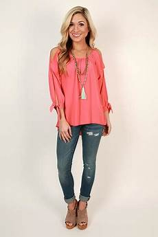 southern clothes for southern times top in pink impressions s