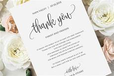 Wedding Thank You Card Examples Wedding Thank You Note Thank You Card Thank You Letter