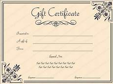 Editable Gift Certificate Template Printable Coral Core Gift Certificate Template