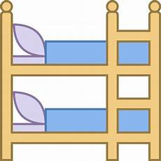 bunk icon free png and vector bunk bed clipart