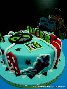 the sensational cakes ben 10 cake 3d singapore xavier