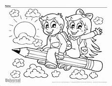 back to school coloring page 3 universal publishing