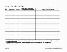 Mileage And Expense Log 8 Travel Expense Report With Mileage Log Excel Templates