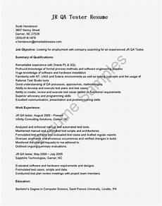 Sample Resume Qa Tester Resume Samples Jr Qa Tester Resume Sample
