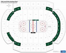 Xcel Energy Center Interactive Seating Chart Club Level End Xcel Energy Center Hockey Seating
