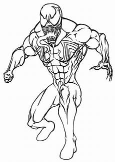 Easy Venom Coloring Pages Venom Coloring Pages Coloring Pages To And Print