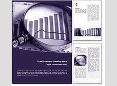 Royalty Free Money Market Microsoft Word Template In Purple