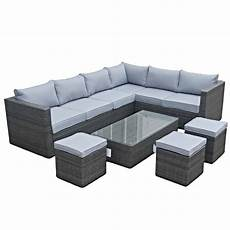 4 Rattan Sofa Set With Cushions Png Image by Cotswold Rattan Grey Large Corner Sofa Rattan Garden