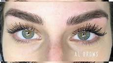microblading eyebrows entire process before and after