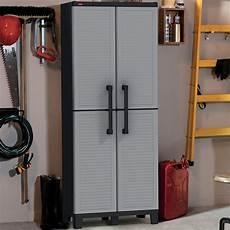 keter space winner adjustable garage storage gray resin