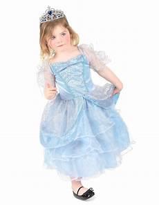 Light Blue Costume Light Blue Princess Costume With Tiara For Girls Vegaoo