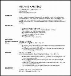 Leasing Specialist Resume Entry Level Apartment Leasing Consultant Resume Resume Now