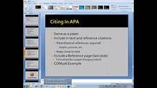 Apa Presentation Format 2013 10 01 18 59 Powerpoint Creating An Apa Style Ms