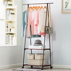 hanging clothes rack on wheels multifunction clothes hanger triangle coat rack removable