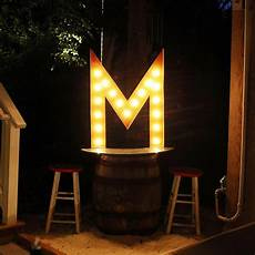 Buy Marquee Lights 36 Letter M Lighted Vintage Marquee Letters Rustic