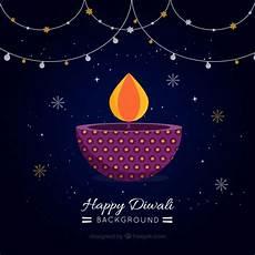 candele ornamentali sfondo scuro diwali con candele ornamentali e le stelle