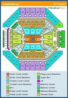 Spurs Seating Chart At Amp T Center Seating Chart Pictures Directions And