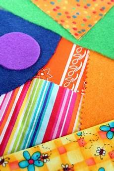 make a fabric collage activity education