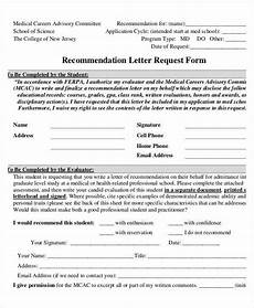 Letter Of Recommendation Forms 37 Simple Recommendation Letter Template Free Word Pdf