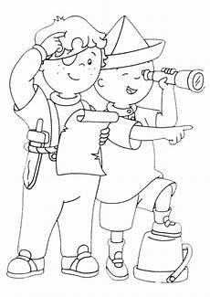 ausmalbilder caillou 12 ausmalbilder und basteln mit kindern