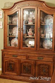 note songs anything goes in the china cabinet