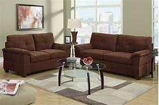 brown fabric sofa and loveseat set a sofa