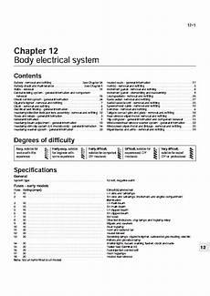 Opel Kadett Electrical Manual 1986 1990 Service Manual